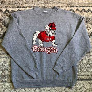 Vintage Georgia Bulldogs Crewneck Sweater XL